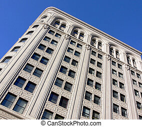 Historic Architecture - Shot of an old building in Winnipeg,...