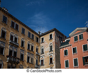 Historic architecture - Typical historic architecture in...