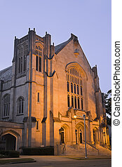Historic Baptist Church in Jackson, Mississippi