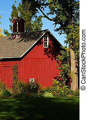 Historic Barn - Historic barn built in 1882 in Bishop Hill,...