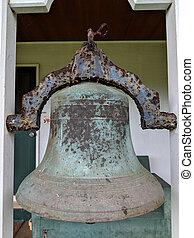 Historic Bell The Mission Hall at Waioli Huiia Church
