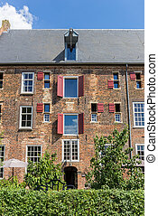 Historic building Arsenaal in the center of Doesburg