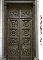 Historic Building Bronze Door
