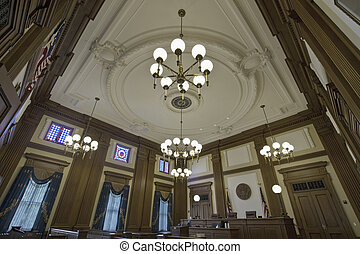 Historic Building Courtroom 4
