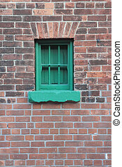 Historic building detail - Historical building detail in...