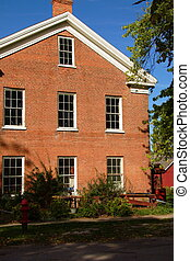Historic Building - Historic building in Bishop Hill,...