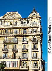 Historic building in Barcelona