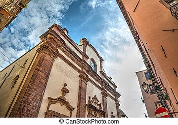 historic building in Bosa