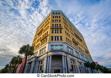 Historic building in Charleston, South Carolina.