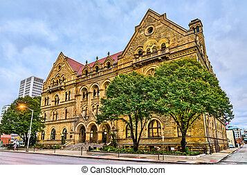 Historic building in Columbus - Ohio, United States