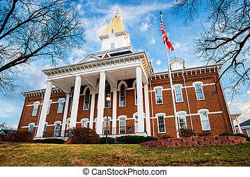 Historic building in Dahlonega, GA