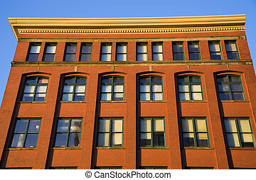 Historic building in downtown Cleveland