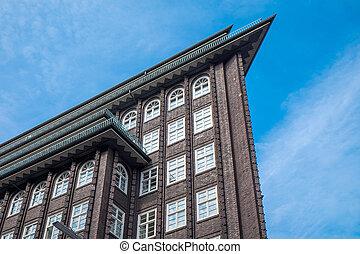 Historic building in Hamburg