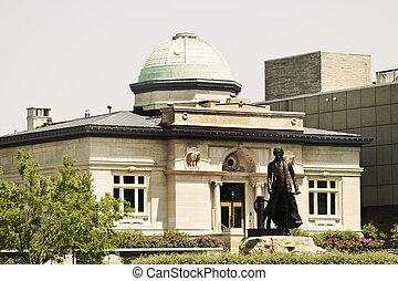 Historic building in Jeffersonville - Historic building in...