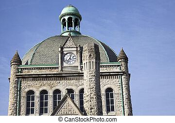 Historic building in Lexington, Kentucky.