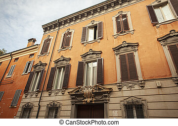 Historic building in Modena, Italy