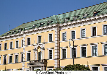 Historic building in Munich, Germany