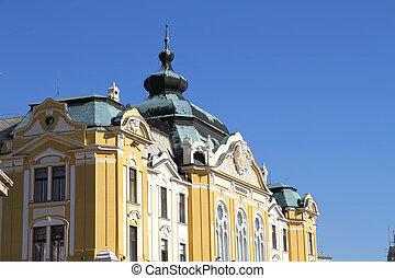 Historic building in Pecs - Historicm building in the center...
