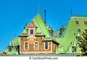 Historic Building in Quebec City, Canada - Historic Building...