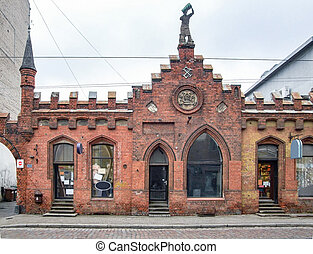 historic building in Riga