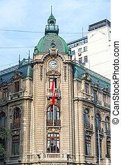 Historic Building in Santiago