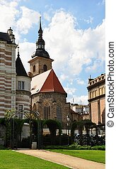 Historic building in the center of Pilsen in the Czech...