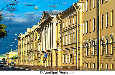 Historic building in the centre of Saint Petersburg - Russia