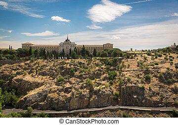 Historic building in Toledo, Spain