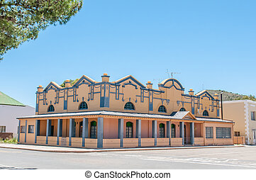 Historic building in Willowmore, South Africa