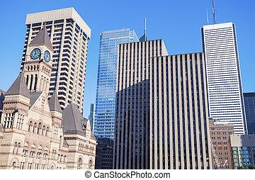 Historic building of Toronto City Hall