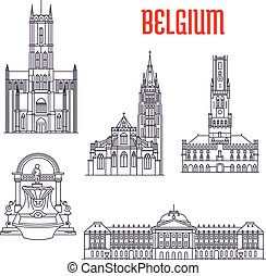 Historic buildings and architecture of Belgium - Famous ...