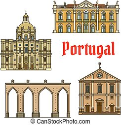 Historic buildings and sightseeings of Portugal - Historic...