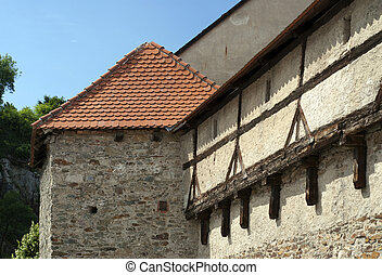 Historic buildings - Ghotic buildings in historic town of ...