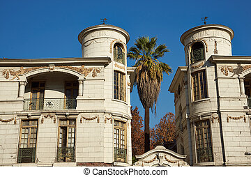 Historic Buildings - Historic buildings in the Quinta Normal...