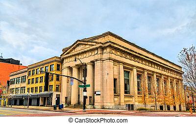Historic buildings in Columbus - Ohio, United States