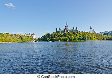 Historic buildings in Downtown Ottawa, Canada