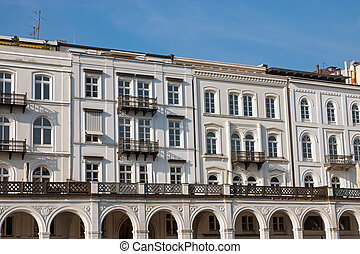 Historic buildings in Hamburg