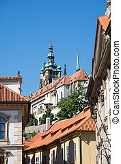 Historic buildings in Prague (Czech Republic)