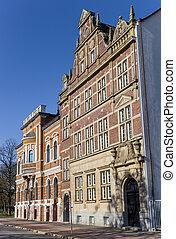 Historic buildings in the center of Wilhelmshaven