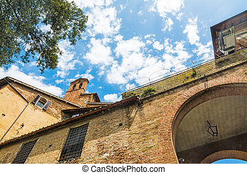 historic buildings in Tuscany