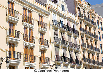 Historic Buildings in Valencia, Spain