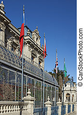 Historic Buildings of Punta Arenas - Historic mansion in the...