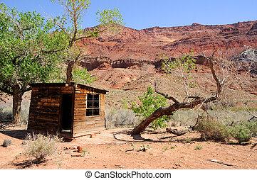 Historic Cabin Paria Canyon Wilderness