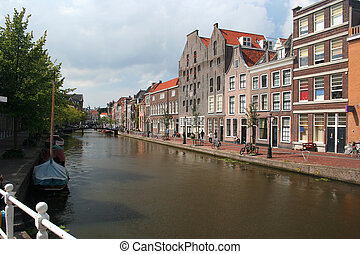 Historic Canal - Historic Dutch canal