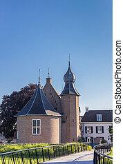 Historic castle in the center of Coevorden
