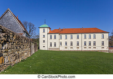 Historic castle in the Old Village of Westerholt