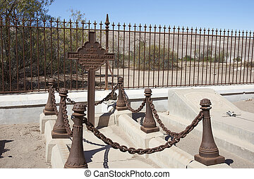 Historic cemetery in the Atacama Desert - Historic British...