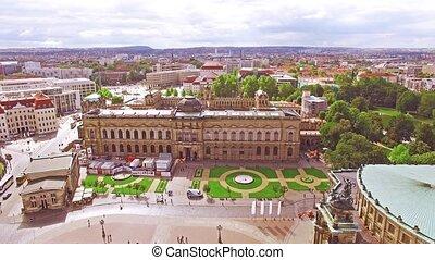 Historic center of Dresden. Saxony, Germany.