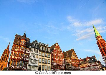 Historic center of Frankfurt
