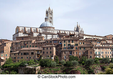 Historic centre of Siena, Italy